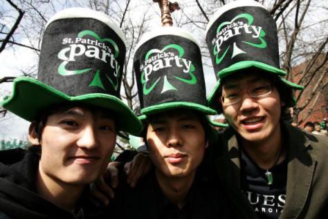 St. Patricks Day Festival In Seoul